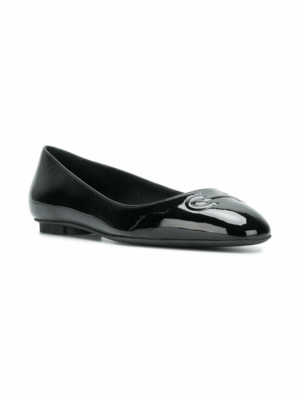 New in Box Neuf Neuf Neuf Salvatore Ferragamo Broni Noir Or Rouge Ballerines 6.5 7 8 8.5 9.5 efd62f