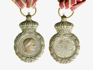 pcc2135-55-Napoleone-medaglia-per-i-fedelissimi-di-Sant-039-elena-1821
