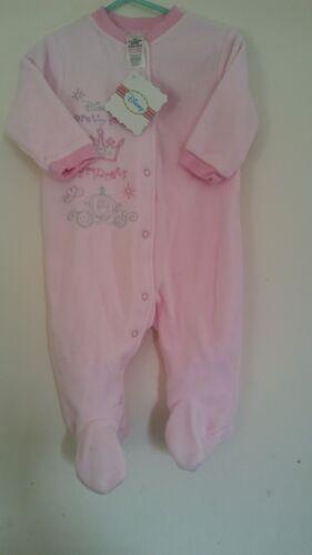 Brand new Baby pink disney fleece sleepsuit 3-6 months