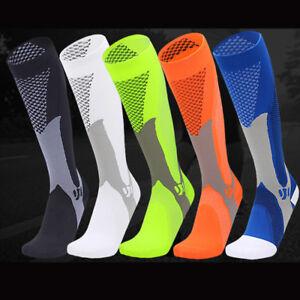 Copper-Compression-Socks-Men-Women-Calf-Shin-Leg-Running-Fitness-Medical-Sleeve