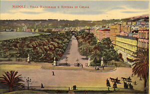 napoli  villa nazionale e riviera di chiaia  early 1900s - <span itemprop=availableAtOrFrom>Ringwood, United Kingdom</span> - returns accepted within 7 days ! no return postage fee is refunded Most purchases from business sellers are protected by the Consumer Contract Regulations 2013 which give you the right t - Ringwood, United Kingdom