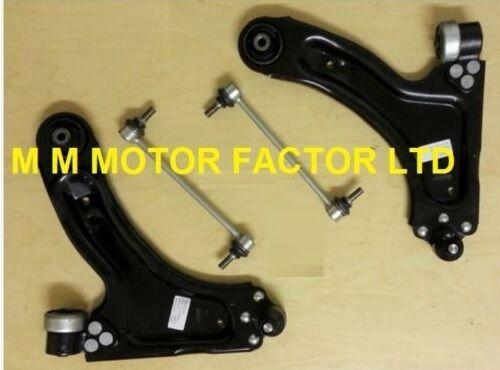 Vauxhall Meriva Front Suspension//Wishbone Arms LH /& RH x 2 /& Drop Links x 2