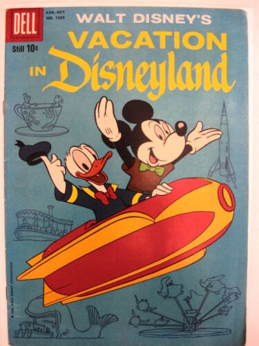 By Barks vgfn condition. FC #1025 VACATION IN DISNEYLAND 1//2 Guide price