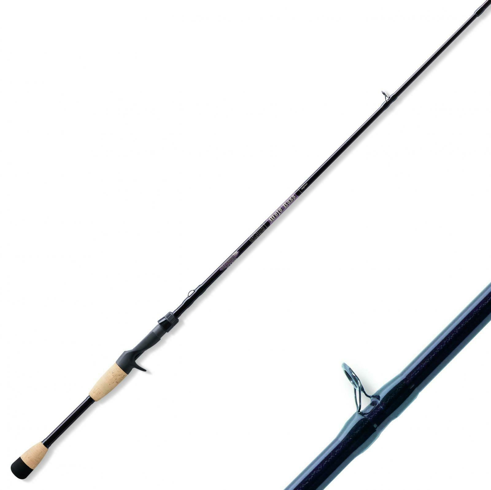 Canna Pesca St Croix Mojo Bass Casting 2,03 m Monopezzo Topwater Jig PPG