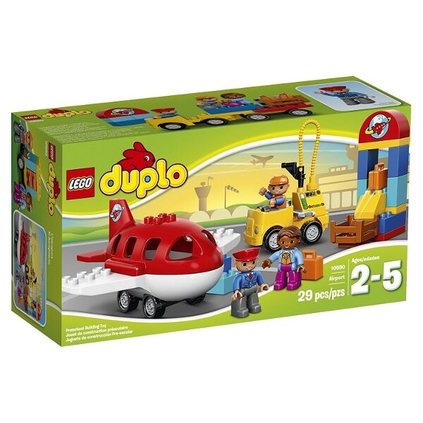 LEGO 10590 - DUPLO Town - Airport Building Set - 2015 - NEW