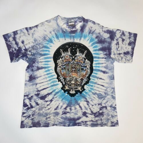Vintage 1991 Drums N Space Greatful Dead Size XL T