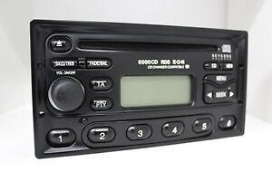 Ford-6000CD-RDS-E-O-N-6000NE-Original-CD-Autoradio-Eckig-YM21-18K876-KB-Radio