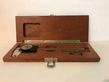 Vintage Brown Amp Sharpe Dial Caliper 599 579 2 Swiss Made