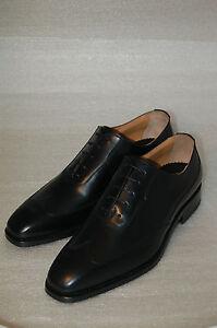 vitello Oxford Nero lth Man Wingtip Sole Calf 10½eu Francesina 44½ Black 40q6wq7