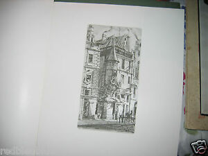 """Charles MERYON """"Eaux-fortes sur Paris"""" Club français du livre 1969 1/8000 superb"""