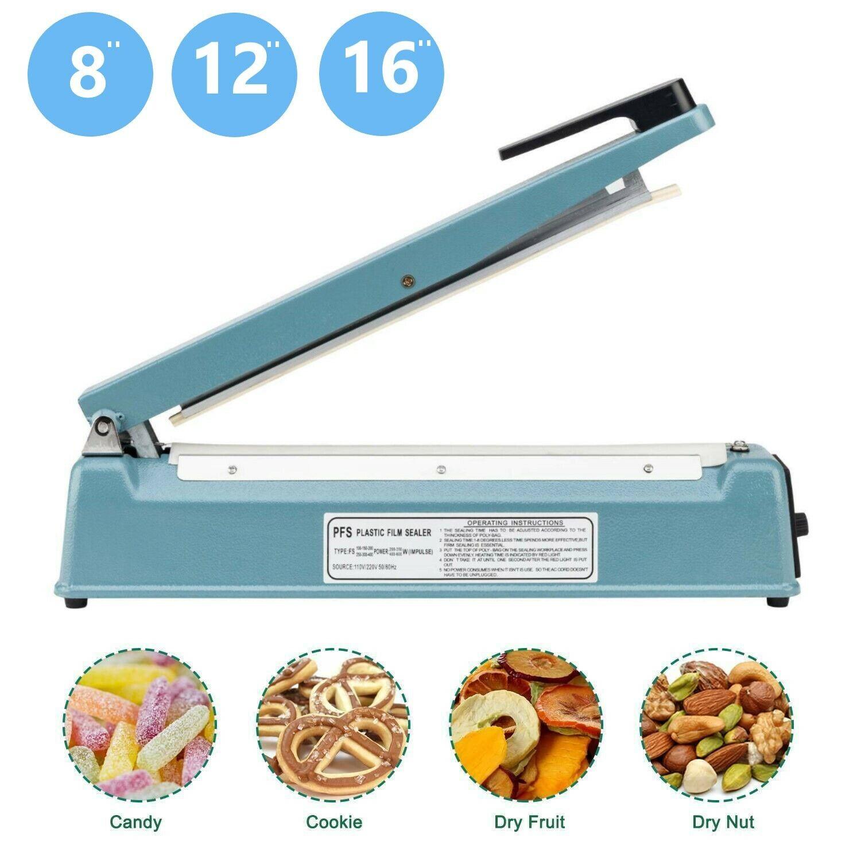 Filling & Sealing Machines Mini Impulse Sealer Hand Press Manual ...