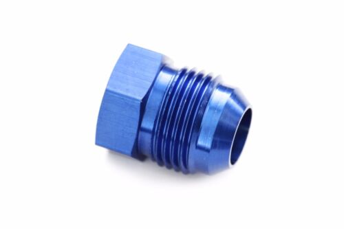 16 AN Flare Plug Hose End Fitting Cap 80616-1 Blue