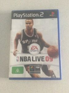NBA-Live-09-Sony-PlayStation-2-Console-Game-PAL-PS2