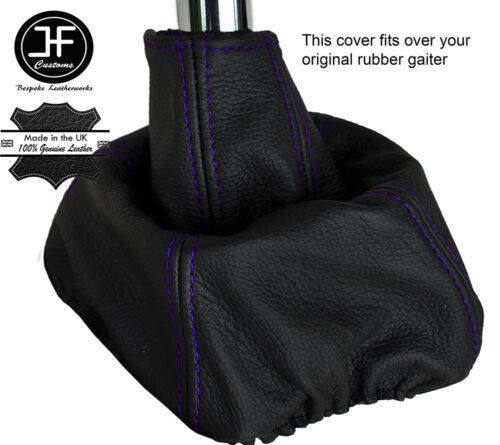 Violet piquer manuel cuir overdrive gear gaiter sur caoutchouc pour volvo 740 940