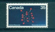 MINERAUX - MINERALS CANADA 1980 Uranium Molecule