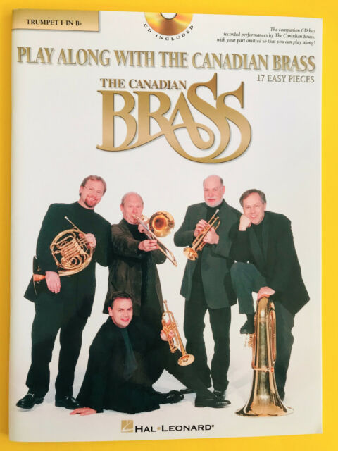 Play Along with the Canadian Brass, Trumpet 1 in Bb, Book/CD Set