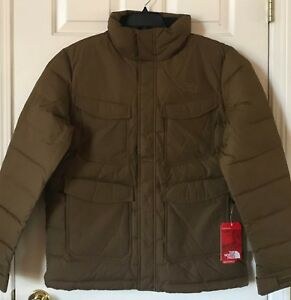 08016a9b3 Details about $249 NWT Mens The North Face Far Northern 550 Fill Down  Jacket Coat Brown Fields