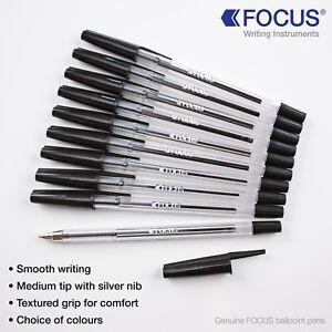Ballpoint-Pen-Biro-Pens-Medium-Tip-Ball-Point-Pens-Ballpen-UK-Stock-Free-Post