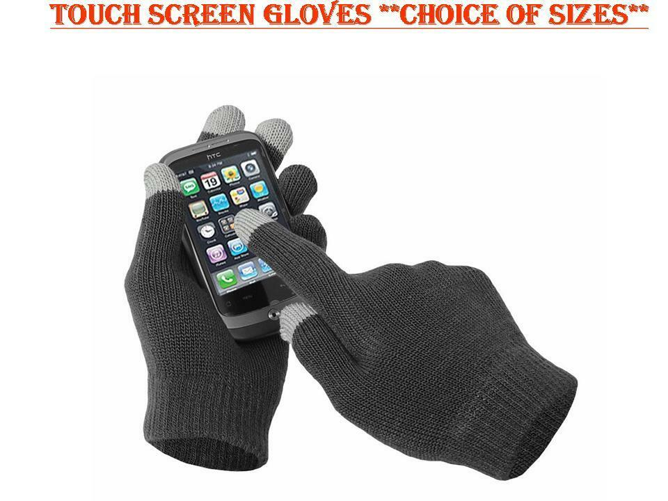 IPAD, IPHONE, TABLET GLOVES, TOUCH SCREEN GLOVES, APP GLOVES, 1 SIZE, UNISEX