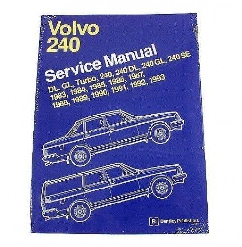 volvo 240 242 244 245 repair manual bentley v08000293 ebay rh ebay com 2002 Volvo DL 1980 Volvo Diesel