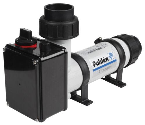 Pahlen Elektroheizer Kunststoff//Titan 18kW bis 120m³ Pool Heizung Schwimmbad
