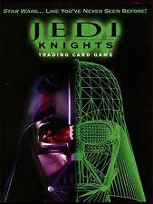 Star Wars 2000 Jedi Knights CCG Promo Sell Sheet #8047