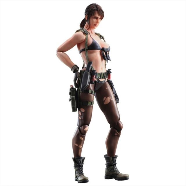 Play Arts Kai Metal Gear Solid V The Phantom Pain Quiet Action Figure New In Box