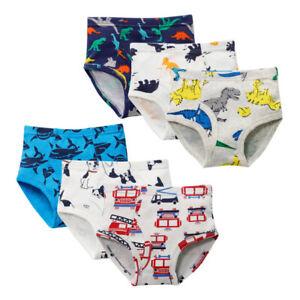 3 Pack Kids Boys Underwear Toddler Child Cartoon Dinosaur Cars Briefs Knickers Ebay