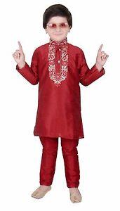 cdd107241 Boys Indian Kurta with Churidar for Ramadan EID Kids & Bollywood ...