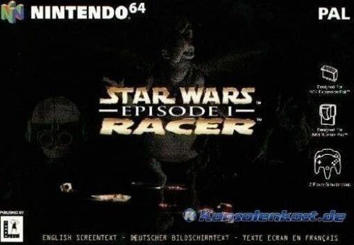 N64 Star Wars: Episode 1 Racer  / Zustand - jeu StarWars