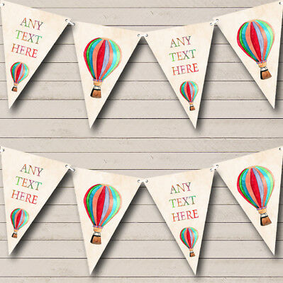 Regal Or Powder Blue Personalised Engagement Party Bunting