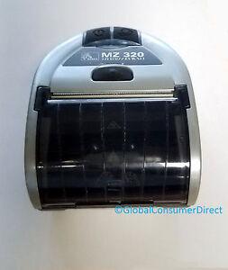 Zebra-MZ-320-MZ320-Portable-Mobile-Thermal-BLUETOOTH-Wireless-USB-3-034-Printer