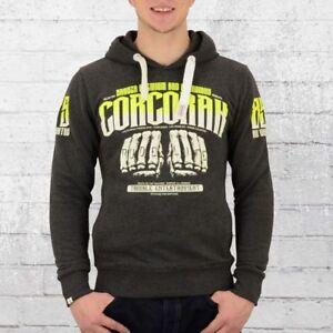 Premium Hoody da con Yakuza Hoody Corcoran cappuccio Felpa 2225 grigia uomo qw6ftx