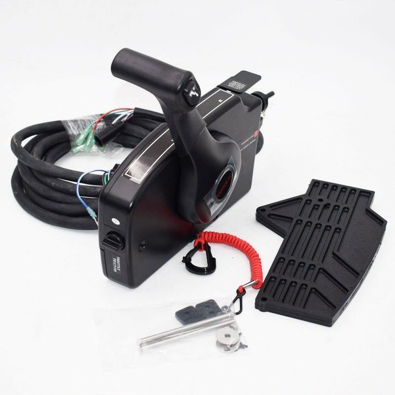 Mercury Outboard Outboard Outboard Remote Control Box 8 Pin Boat Motor Right Side Control Box os12 d801be
