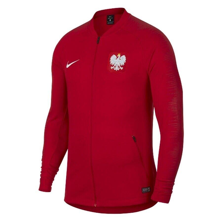 Bluza Reprezentacji Polski POL SQD JKT Anthem 893600 611 czerwony L