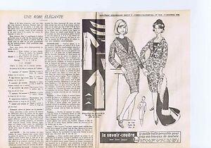 """Patron De Couture """"femmes D'aujourd'hui"""" Une Robe élégante Taille 46 Otoqurjv-07234321-217725017"""