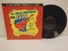 """1954 MILLS BROTHERS Four Boys And A Guitar 10""""/33 rpm Vinyl Record Decca DL-5516"""