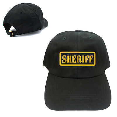 FBI UNSTRUCTURED 100/% COTTON CAP HAT BUCKLE BACK CLOSURE