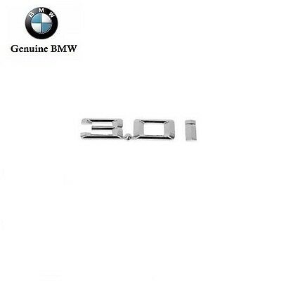 "For BMW E85 Z4 3.0i Convertible Left or Right Emblem /""3.0i/"" for Fender Genuine"
