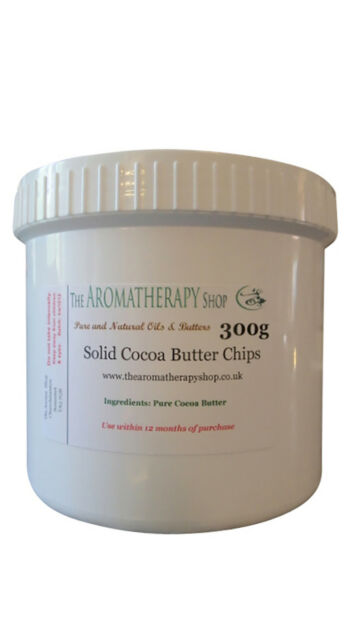 Cocoa Butter Chips  / 300g Airtight Tub