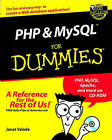 PHP and MySQL for Dummies by Janet Valade (Paperback, 2002)