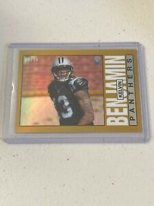 KELVIN BENJAMIN - 2014 Topps Chrome GOLD Refractor - FSU - Panthers /75