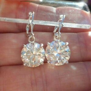 14k-White-Gold-Over-2-00-Ct-White-Moissanite-Gorgeous-Drop-Dangle-Earrings-Women