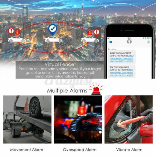 Mini Auto GPS Tracker Relais-Form KFZ Fernbedienung Echtzeit Tracking Verfolgung