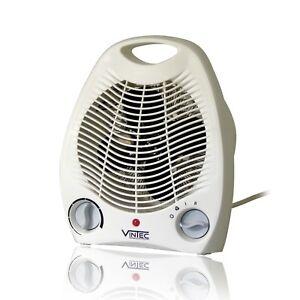 Heizlüfter 2000W Heizgerät Elektroheizer Elektro Schnell Heizer Thermostat neu