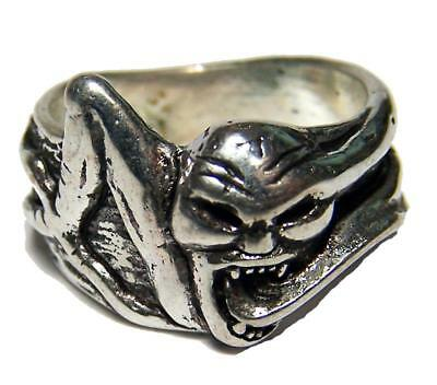 DELUXE GRIFFIN HORSE DRAGON BIKER RING #BR75 MENS WOMENS jewelry SILVER SYMBOL