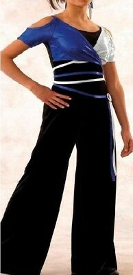 Sophie Dance Costume Sparkle Black Velvet Unitard Clearance Child S Adult S/&L