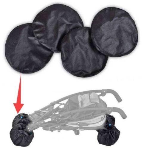 Universal Räder Schutzkappe für Babywagen Buggy Kinderwagen vorne hinten
