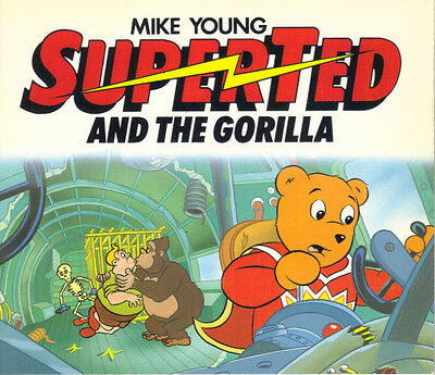 SUPERTED AND THE GORILLA - MIKE YOUNG - 1986 1st Edn PB - VERY GOOD