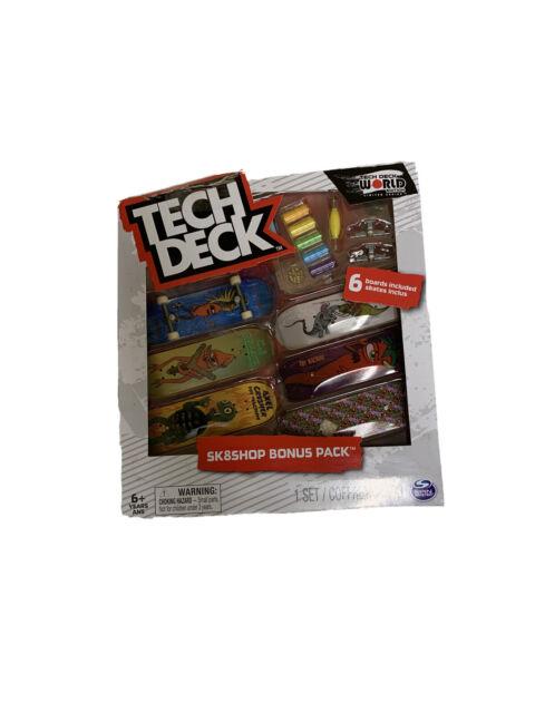 Fingerboard Tech Deck World Edition Limited Series Habitat Sk8shop Bonus Pack
